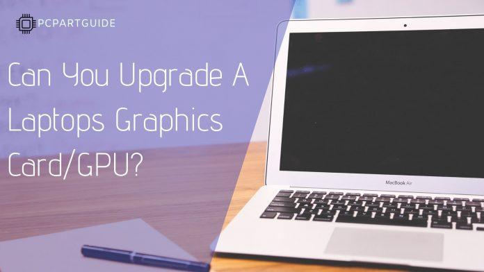 upgrade laptop gpu