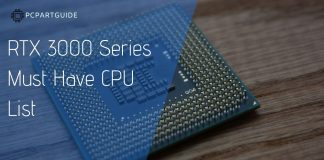 best cpus for rtx 3000