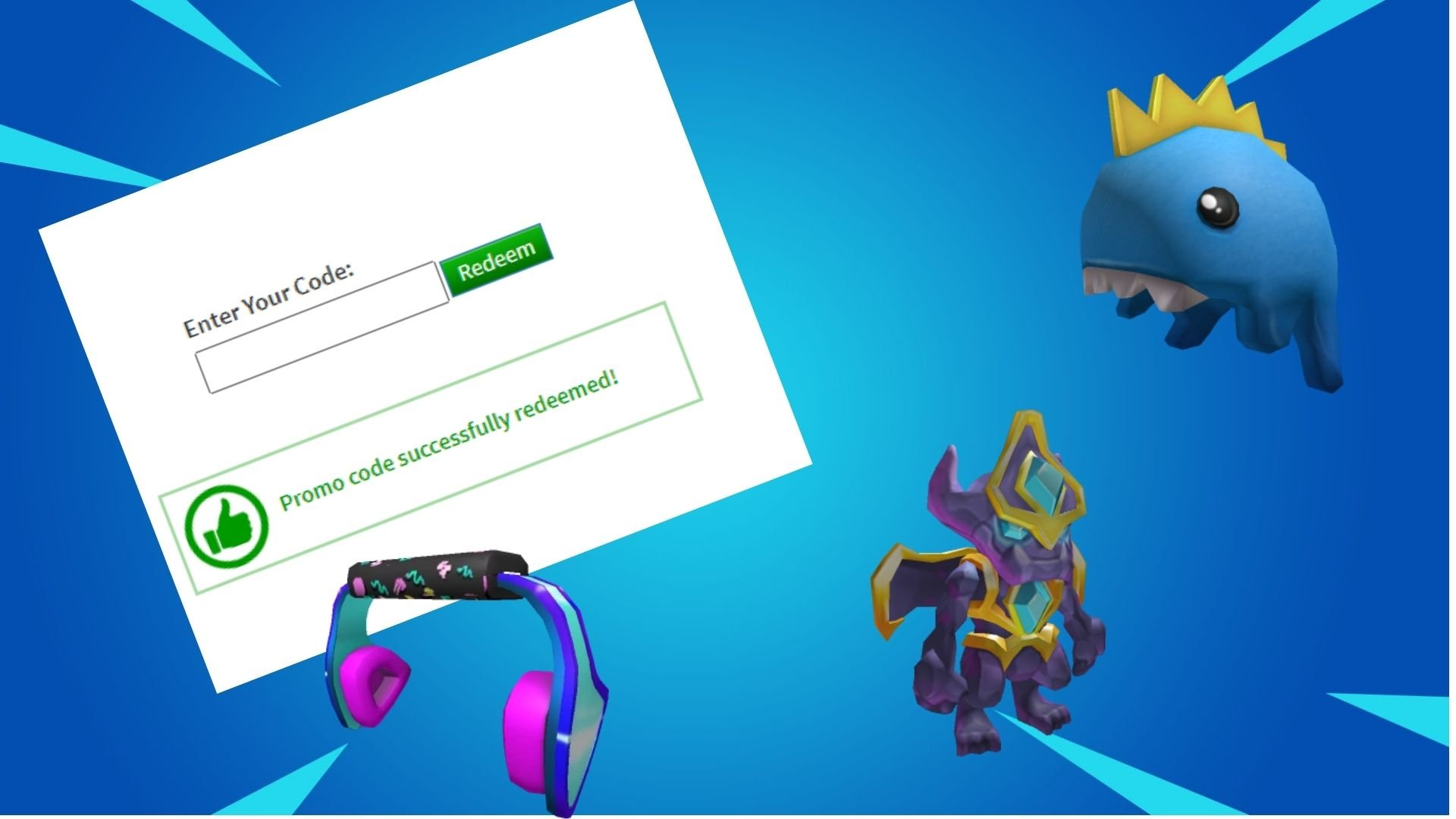 How To Get Highlights Hood On Roblox Brand New Roblox Promo Code List Items Cosmetics Pcpartguide